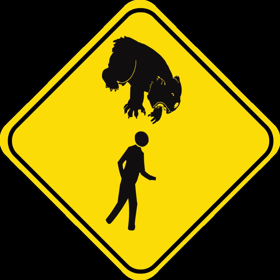 Australian Icons:The Ferocious Australian Drop Bear (4/6)