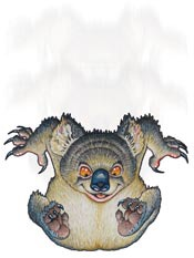 Australian Icons:The Ferocious Australian Drop Bear