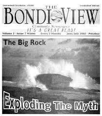 Cover of the Bondi View, June/July 2002